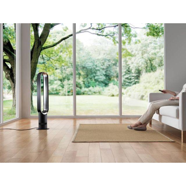 DYSON Ventilateur tour AM07 Il permet de répartir le souffle d'air de manière uniforme dans toute la pièce sans déplacer le matériel.