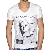 Stoneuk - Stone Uk - T Shirt Manches Courtes - Homme - Monroe - Blanc