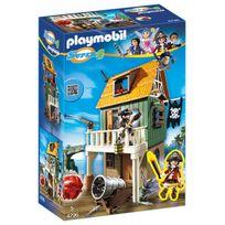 PLAYMOBIL - Fort des pirates camouflé avec Ruby - 4796