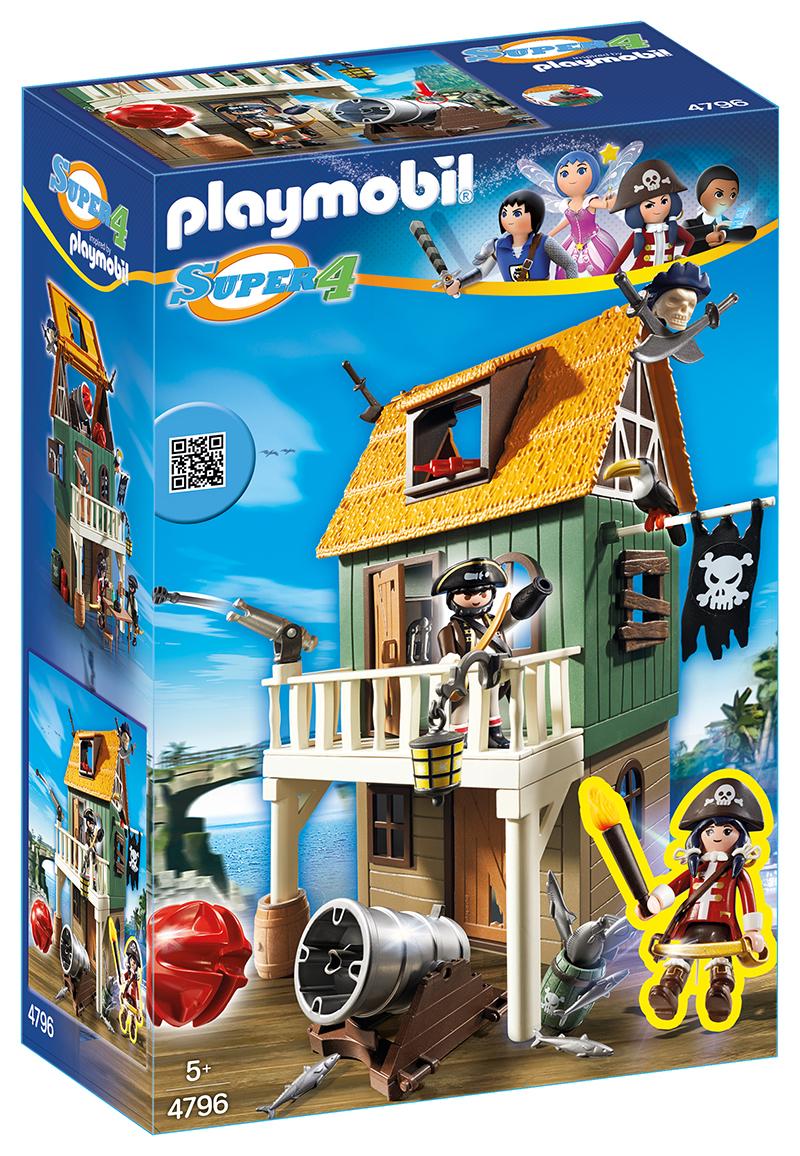 Fort des pirates camouflé avec Ruby - 4796