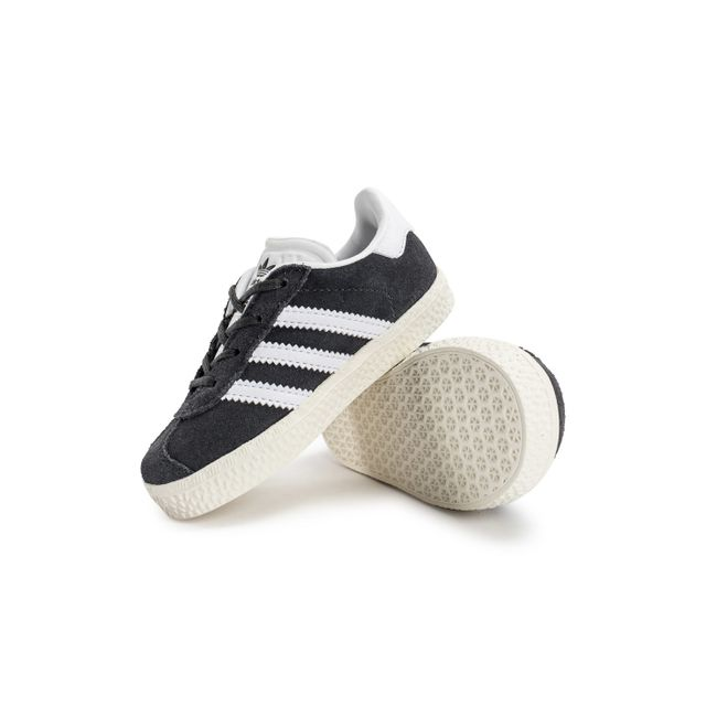 Adidas originals - Gazelle Bébé Grise 21 - pas cher Achat / Vente Baskets enfant - RueDuCommerce