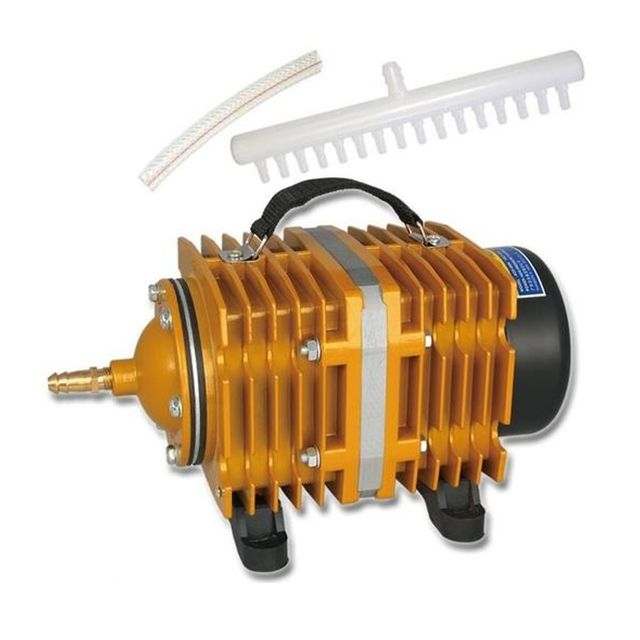 Wewoo Pompe aquarium 160W 115L / Min compresseur de à air électromagnétique poisson augmentation la capacité du réservoir d'ox