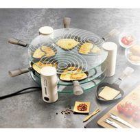 LAGRANGE - Raclette Transparence, 6 coupelles 009604 Blanc