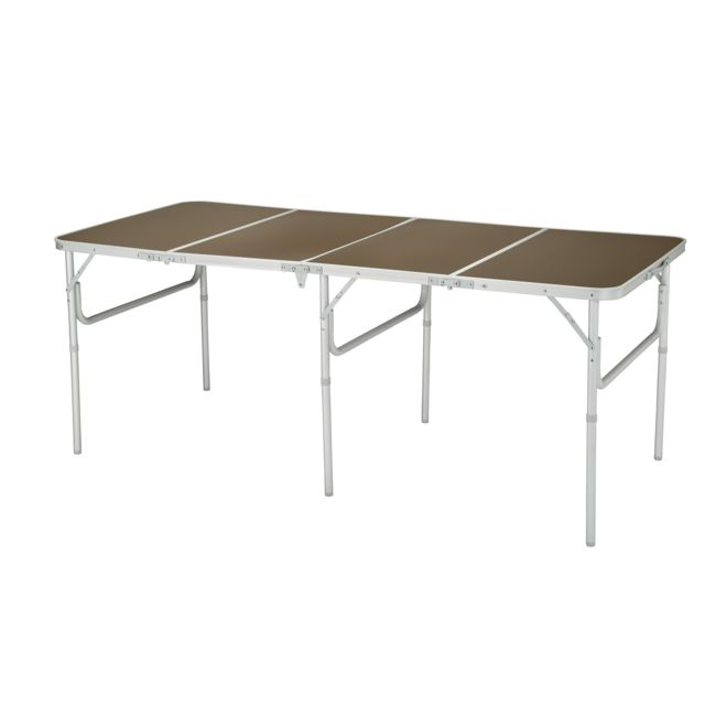 Carrefour Table Pliable Familiale 8 Couverts Pas Cher Achat