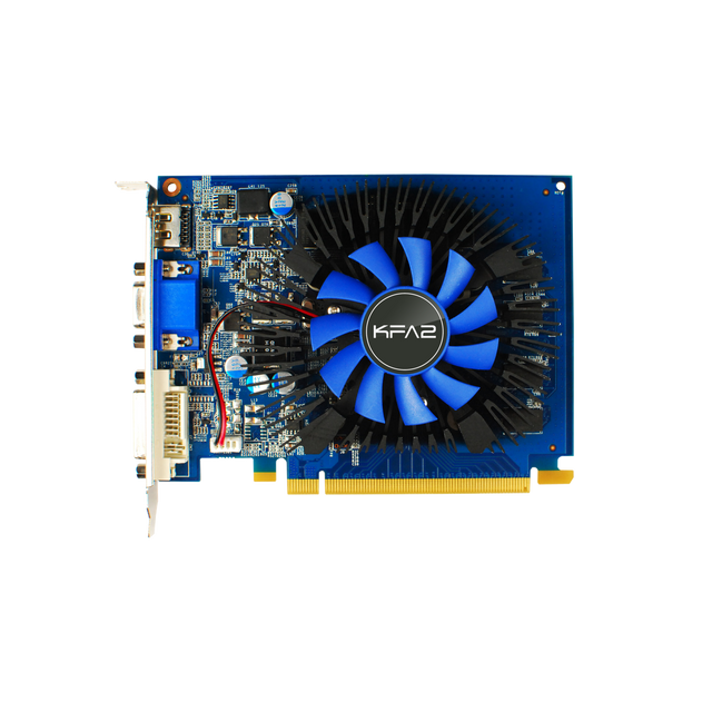 KFA2 GeForce GT 730 - 1Go Carte graphique Gamer - PCI Express 3.0 - 1Go GDDR5
