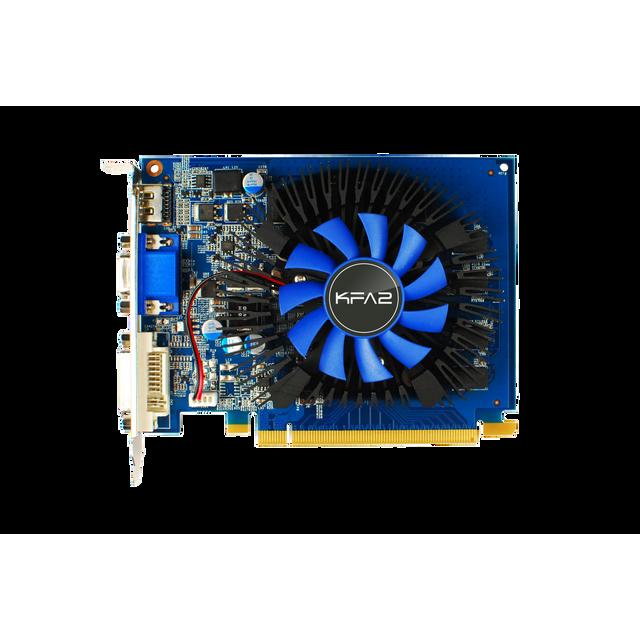 KFA2 GeForce GT 730 - 2Go Carte graphique Gamer - PCI Express 3.0 - 2Go GDDR5