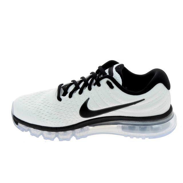 Nike Air Max 2017 Blanc Noir pas cher Achat Vente