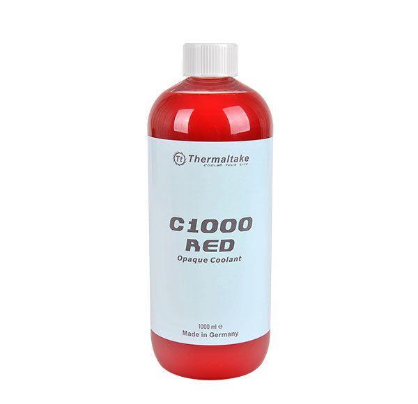 liquide de refroidissement 1000ml c1000 rouge opaque thermaltake dans le rayon liquide. Black Bedroom Furniture Sets. Home Design Ideas