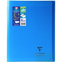 Clairefontaine - Koverbook - Cahier 2-en-1 - 24 x 32 cm - 96 pages