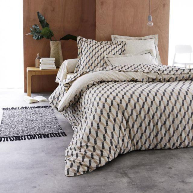 tradilinge parure de lit eko 200x200 pas cher achat vente parures de lits rueducommerce. Black Bedroom Furniture Sets. Home Design Ideas