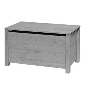 twf coffre florida gris pas cher achat vente. Black Bedroom Furniture Sets. Home Design Ideas