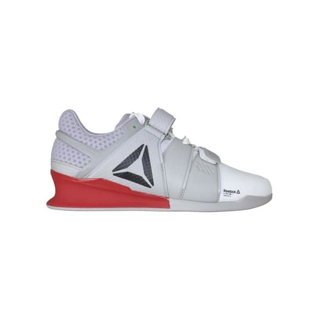 competitive price 9333b 454b5 Reebok - Chaussures Legacylifter blanc gris rouge Multicolour - 43 - pas  cher Achat   Vente Chaussures fitness - RueDuCommerce