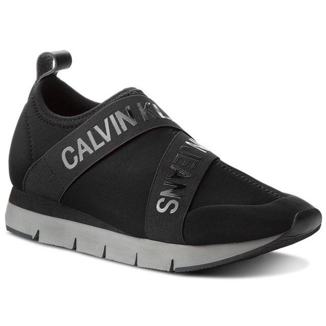 meilleur service 59405 8314b Calvin Klein - tonia neoprene Noir - pas cher Achat / Vente ...