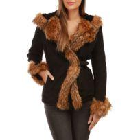 Veste simili cuir femme taille 50