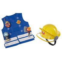 Smoby - sam le pompier kit pompier + casque - 109250745SMO
