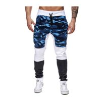 Mode Labs - Mh Studio - Jogging homme camouflage blanc