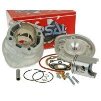 Airsal - Kit Cylindre 70cc Tech-Piston pour Aprilia Area 51 50cc, Gulliver, Rally, Sonic, Sr, Benelli 491 Rr, Replica, Sport, K2, Beta Ark, Eikon, Ktm