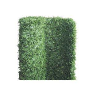 jardideco haie artificielle super deluxe 243 brins 6 m 2 rouleaux 3 x 1 50 m pas cher. Black Bedroom Furniture Sets. Home Design Ideas