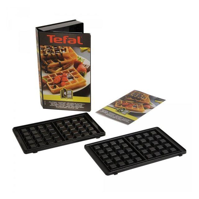 TEFAL coffret plaques 2 gaufres - xa800412