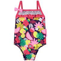 2054922f22 Petit Beguin - Maillot de bain 1 pièce bébé fille Fruity Party - Taille - 36