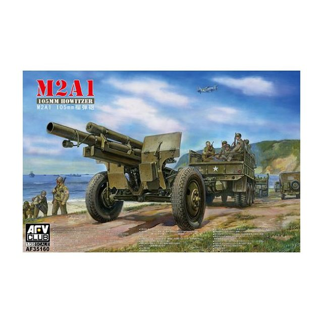 Afv Club Maquette M2A1 105mm Howitzer