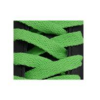 Neon - Lacets plat 100% coton 125cm haute qualité vert