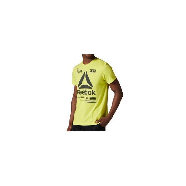 competitive price 8ba96 b4a19 Reebok - T-shirt One Series SpeedWick Performance Delta manches courtes - pas  cher Achat   Vente Tee-shirts, débardeurs - RueDuCommerce