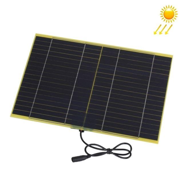 wewoo chargeur solaire pour la batterie de voiture de 12v de panneau de fibre de verre de. Black Bedroom Furniture Sets. Home Design Ideas