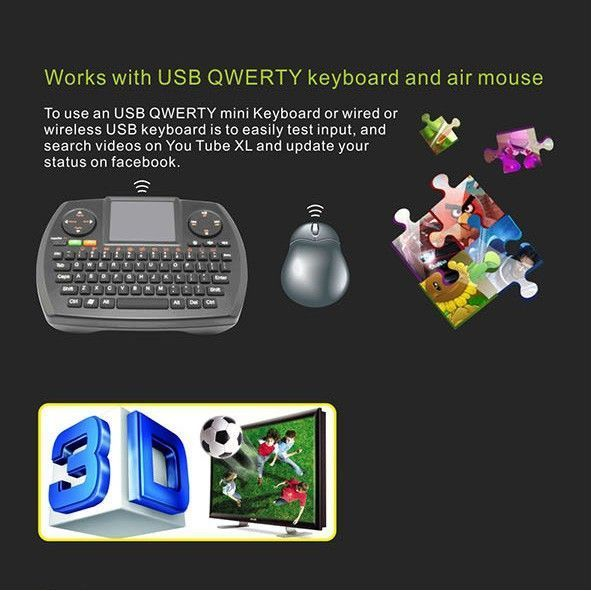 Yonis - Mini Pc Android Tv Box 5.1 clé Tv Hdmi Wifi Bluetooth Kodi QuadCore 2Go Ram