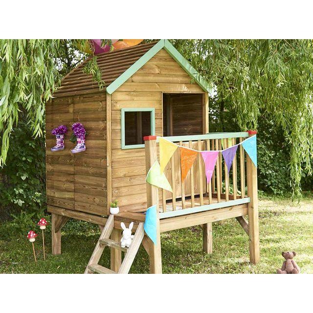 Forest Style Cabane Enfant Winny En Bois Pas Cher Achat Vente