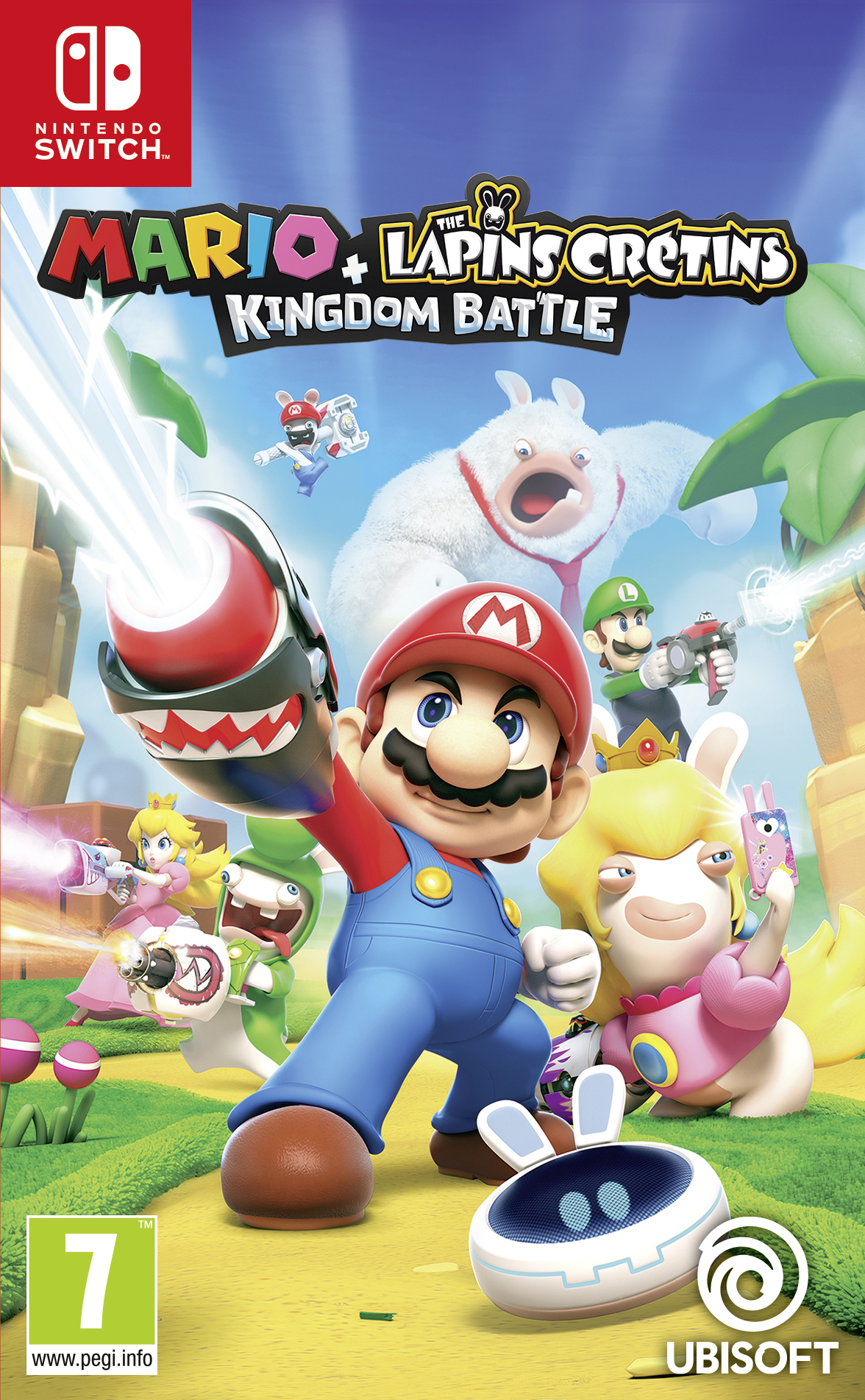 Mario + The Lapins Crétins Kingdom Battle - Switch