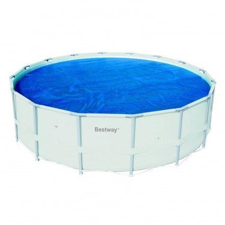 bestway b che t pour piscine ronde tubulaire de 457 pas cher achat vente b che et. Black Bedroom Furniture Sets. Home Design Ideas