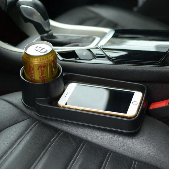 wewoo support holder noir portable multifonction v hicule porte gobelet titulaire de t l phone. Black Bedroom Furniture Sets. Home Design Ideas