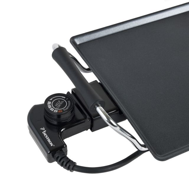 BESTRON - Plancha XXL 90,5x23,5cm 1800W avec thermostat récupérateur de graisse intégrée