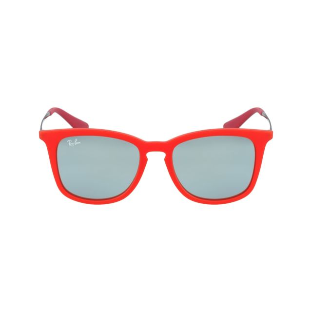 Ray-Ban - Ray Ban - Junior Rj9063S 701030 Rouge - Argent - Lunettes ... f1f27d82b60f