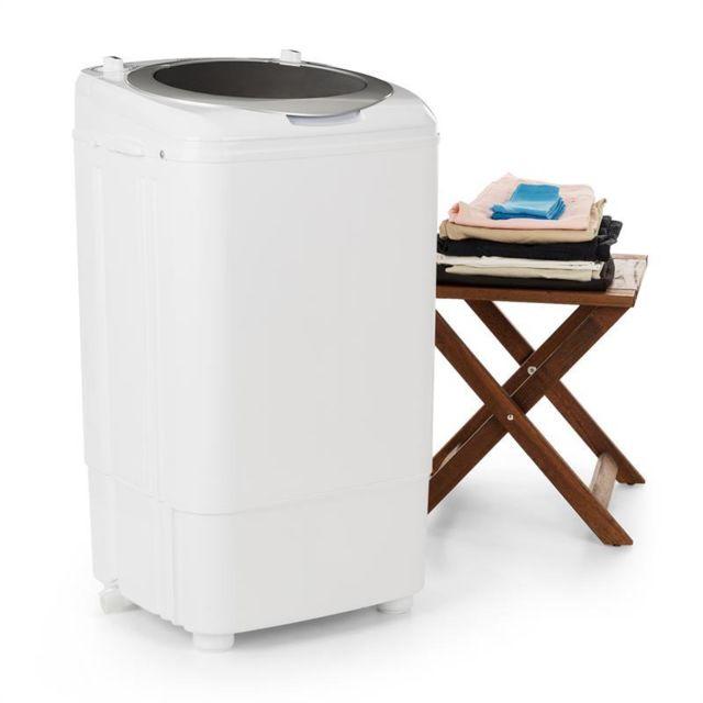 ONECONCEPT Ecowash Deluxe 7 Machine à laver de camping 7kg 350W Fonction essorage