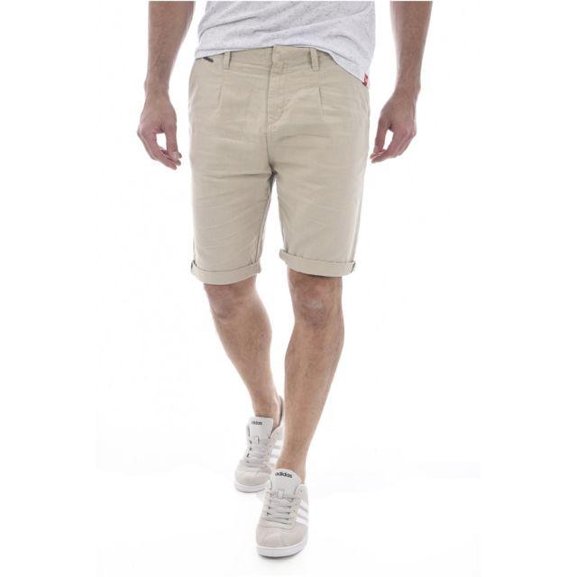 Jeans Les Guess Coton Beiges Avec Bermuda M72d27 Revers Lin 30 UxYF6 0cbcbccae8c