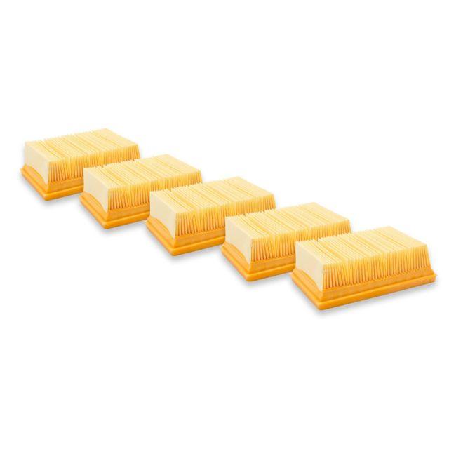 3x Les filtres à cartouches pour Kärcher MV2,MV3,MV 3 Fireplace Kit