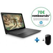 HP - Pavilion Power 15-CB016NF - Noir + Souris sans fil X3000