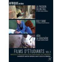 Doc Net Films Editions - Films d'étudiants : La passion selon Fall + Boly Bane + Aïda la bouchère - Vol.3