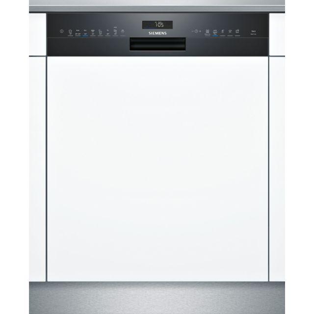 SIEMENS lave-vaisselle 60cm 14c 42db a++ intégrable avec bandeau noir - sn558b09me