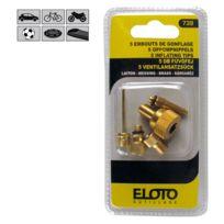 Eloto - Embouts de gonflage laiton