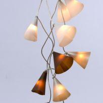 Pa Design - Guirlande - Noël Argenté 20 lumières 3,1m - Guirlande et objet lumineux designé par Quand les belettes s'en mêlent