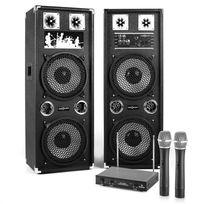 """ELECTRONIC STAR - Set Karaoke """"STAR-210A"""" Enceinte micro sans fil 80W RMS/160W max"""