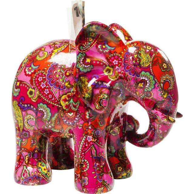 karedesign tirelire elephant paisley kare design pas cher achat vente objets d co. Black Bedroom Furniture Sets. Home Design Ideas