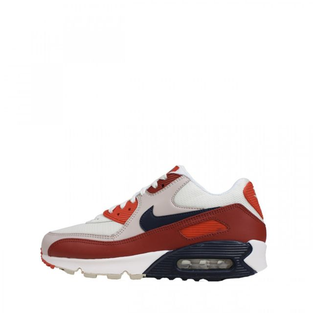 f21d4d08b85 Nike - Baskets Air Max 90 Essential - Aj1285-600 - pas cher Achat   Vente  Baskets homme - RueDuCommerce