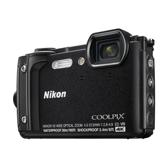 NIKON Appareil photo compact étanche Noir - W300