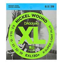 D'Addario - Exl130+ Nickel Wound Extra-Super Light Plus 8.5-39