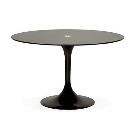 Table à manger en verre noir - Kotak