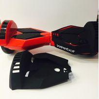 Weebot - Housse siliconée de protection hoverboard 8 pouces la paire, Noir